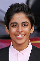 """HOLLYWOOD, LOS ANGELES, CA, USA - MARCH 11: Karan Brar at the World Premiere Of Disney's """"Muppets Most Wanted"""" held at the El Capitan Theatre on March 11, 2014 in Hollywood, Los Angeles, California, United States. (Photo by Xavier Collin/Celebrity Monitor)"""