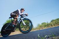 Jean-Christophe Peraud (FRA)<br /> <br /> Tour de France 2013<br /> stage 11: iTT Avranches - Mont Saint-Michel <br /> 33km