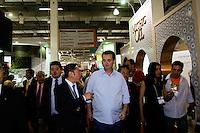 ATENÇÃO EDITOR: FOTO EMBARGADA PARA VEÍCULOS INTERNACIONAIS. SAO PAULO, 07 DE SETEMBRO DE 2012.PREFEITO GILBERTO KASSAB NA BEAUTY FAIR 2012. O prefeito Gilberto Kassab durante abertura da Feira Internacional de beleza profissional, beauty fair, no expo center norte na zona norte da capital paulista na manha deste sabado.FOTO ADRIANA SPACA / BRAZIL PHOTO PRESS