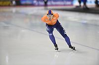 SPEEDSKATING: CALGARY: Olympic Oval, 02-03-2019, ISU World Allround Speed Skating Championships, 5000m Men, Douwe de Vries (NED), ©Fotopersburo Martin de Jong
