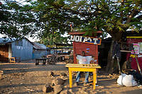 City scene. The market place in Homa Bay, Kenya.