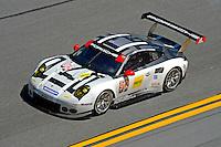 28-31 January, 2016, Daytona Beach, Florida USA<br /> 912, Porsche, 911 RSR, GTLM, Earl Bamber, Frederic Makowiecki, Michael Christensen<br /> ©2016, F. Peirce Williams