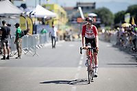Tiesj Benoot (BEL/Lotto-Soudal) rolling in on his regular race bike<br /> <br /> Stage 13 (ITT): Pau to Pau (27km)<br /> 106th Tour de France 2019 (2.UWT)<br /> <br /> ©kramon