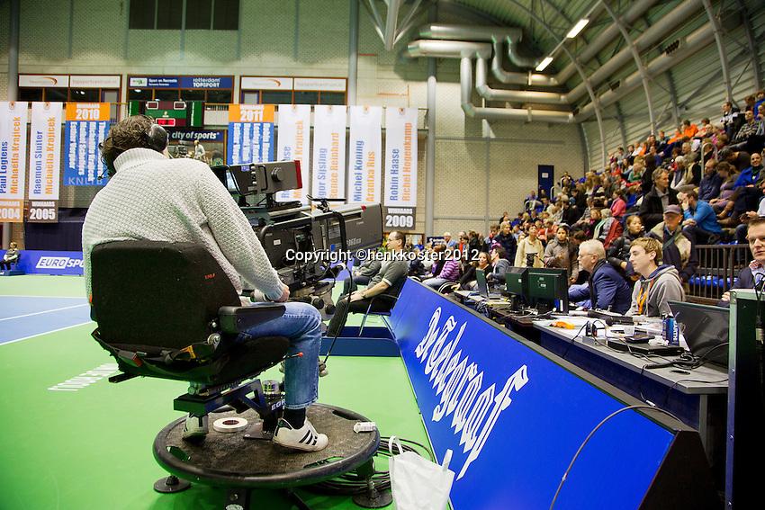 15-12-12, Rotterdam, Tennis Masters 2012, Television,