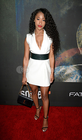 """LOS ANGELES, CA: J Mulan at the premiere of Riveting Entertainment's """"Chris Brown: Welcome to My Life"""" documentary at L.A. Live in Los Angeles, California on June 6, 2017 Credit: Koi Sojer/Snap'N U Photos/MediaPunch"""