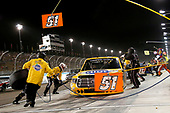 NASCAR Camping World Truck Series <br /> Lucas Oil 150<br /> Phoenix Raceway, Avondale, AZ USA<br /> Friday 10 November 2017<br /> Todd Gilliland, Pedigree Toyota Tundra pit stop<br /> World Copyright: Matthew T. Thacker<br /> LAT Images