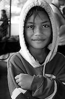 Young girl in Utukalongalu Market, Tonga
