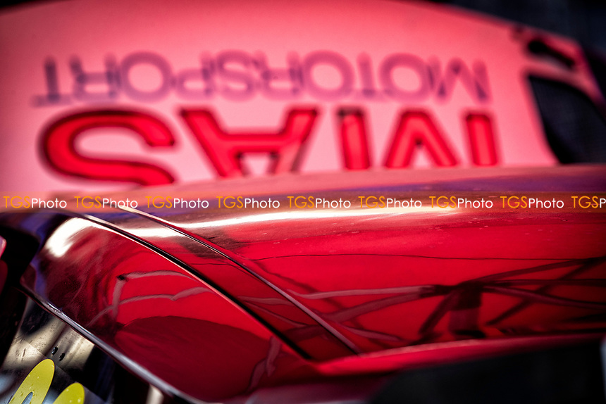 Close up shot in the Mike Sellar, Citreon DS3, BRX Supercars garage during the 5 Nations BRX Championship at Lydden Hill Race Circuit on 31st May 2021
