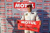 IMSA Motul Pole Award winner #6 Acura Team Penske Acura DPi, P:  Juan Pablo Montoya