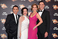 """Bruno Tonioli, Shirley Ballas, Dame Darcey Bussell and Craig Revel Horwood<br /> at the launch of """"Strictly Come Dancing"""" 2018, BBC Broadcasting House, London<br /> <br /> ©Ash Knotek  D3426  27/08/2018"""