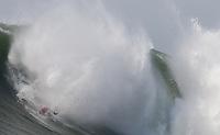 Anthony Tashnick. Mavericks Surf Contest in Half Moon Bay, California on February 13th, 2010.