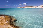 Greece, South Aegean, Cyclades, Milos island: Firiplaka beach | Griechenland, Suedliche Aegaeis, Kykladen, Insel Milos: Firiplaka beach