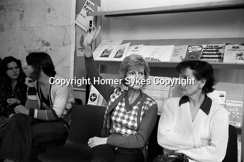 Milton Keynes new town, residents association meeting for newcomers 1970s Buckinghamshire,  1977 UK.