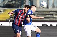 Leonardo Morosini-Mario Sampirisi<br /> Brescia 23-02-2019 <br /> Football Serie B 2018/2019 Brescia - Crotone <br /> Foto Image Sport / Insidefoto