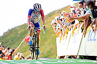 11th September 2020; Chatel-Guyon to Puy Marie Cantal, France;   MADOUAS Valentin of Groupama - FDJ during stage 13 of the 107th edition of the 2020 Tour de France cycling race, a stage of 191,5 km with start in Chatel-Guyon and finish in Puy Marie Cantal on September 11, 2020
