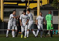 Gustavsburg schwört sich ein - 04.10.2020: Fussball Kreisliga A Germania Gustavsburg vs. TSV Goddelau