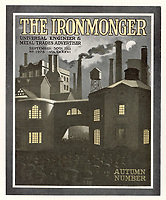 THE IRONMONGER  Factory exterior / reproduced in 'Penrose Annual' 1912,1913 / 1911