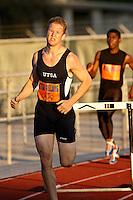 SAN ANTONIO, TX - MARCH 14, 2008: UTSA Relays Track & Field Meet - Day 1 at Jerry Comalander Stadium. (Photo by Jeff Huehn)