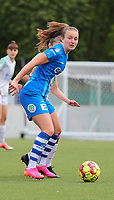 Lobke Loonen (19) of AA Gent pictured during a female soccer game between Oud Heverlee Leuven and AA Gent Ladies on the 9 th matchday of play off 1 in the 2020 - 2021 season of Belgian Womens Super League , saturday 22 nd of May 2021  in Heverlee , Belgium . PHOTO SPORTPIX.BE   SPP   SEVIL OKTEM