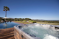 BNPS.co.uk (01202) 558833. <br /> Pic: Hamptons/BNPS<br /> <br /> Pictured: The hot tub.<br /> <br /> A stunning villa where Love Island was filmed is on the market for £5.94m.<br /> <br /> Fans of the show - where singletons live together and couple up to stay in the villa and win a cash prize - might recognise this beautiful home from the Australian spin-off.<br /> <br /> The elegant six-bedroom property, which has a pool and a vineyard, was used in the first series of the Australian version, filmed in 2018 but only aired in the UK last year.