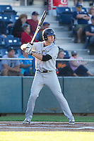 Richard Prigatano #25 of the Tri-City Dust Devils at bat during a game against the Everett AquaSox at Everett Memorial Stadium in Everett, Washington on July 28, 2014. Tri-City defeated Everett 6-5 in 11 innings.  (Ronnie Allen/Four Seam Images)