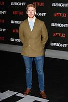 "Neil Jones<br /> arriving for the ""Bright"" European premiere at the BFI South Bank, London<br /> <br /> <br /> ©Ash Knotek  D3364  15/12/2017"