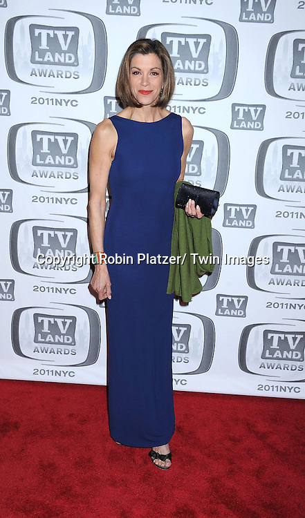 Wendie Malick attending The TV Land Awards 2011 .on April 10, 2011 at the Jacob Javits Center in New York City.