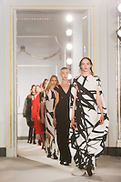 Catwalk<br /> at the Jasper Conran AW17 show as part of London Fashion Week AW17 at Claridges, London.<br /> <br /> <br /> ©Ash Knotek  D3230  17/02/2017