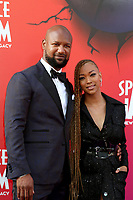 LOS ANGELES - JUL 12:  Kenric Green, Sonequa Martin-Green at the Space Jam:  A New Legacy Premiere at the Microsoft Theater on July 12, 2021 in Los Angeles, CA