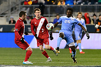 Chester, PA - Friday December 08, 2017: Jelani Pieters The Indiana Hoosiers defeated the North Carolina Tar Heels 1-0 during an NCAA Men's College Cup semifinal soccer match at Talen Energy Stadium.