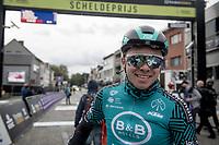 The 108th Scheldeprijs was also the farewel race for Kris Boeckmans (BEL/B&B - Vital Concept) > he rode his very last pro race on home roads<br /> <br /> 108th Scheldeprijs 2020 (1.Pro)<br /> 1 day race from Schoten to Schoten BEL (173km)<br /> <br /> ©kramon