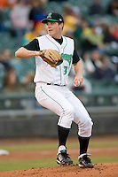Starting pitcher Matt Fairel #32 of the Dayton Dragons in action versus the Great Lakes Loons at Fifth Third Field April 21, 2009 in Dayton, Ohio. (Photo by Brian Westerholt / Four Seam Images)