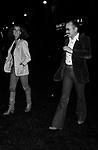 STEFANIA SANDRELLI CON GINO PAOLI <br /> ROMA 1975