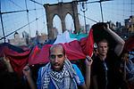NEWS- Pro-palestine Rally across de Brooklyn Bridge