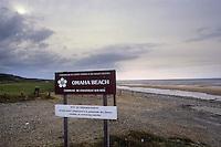 - Normandy, sites of allied landing of June 1944, Omaha Beach....- Normandia, i luoghi degli sbarchi alleati del giugno 1944, Omaha Beach