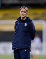 Dawn Scott. The USWNT tied New Zealand, 1-1, at an international friendly at Crew Stadium in Columbus, OH.