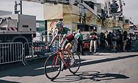 Italian Champion Fabio Aru (ITA/Astana) solo's to victory on top of the Planche des Belles Filles<br /> <br /> 104th Tour de France 2017<br /> Stage 5 - Vittel › La Planche des Belles Filles (160km)