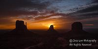 Sunrise monument valley. Fine Art Landscape Photography