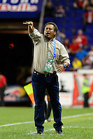 Harrison, NJ - Thursday Sept. 15, 2016: Milton Melendez during a CONCACAF Champions League match between the New York Red Bulls and Alianza FC at Red Bull Arena.