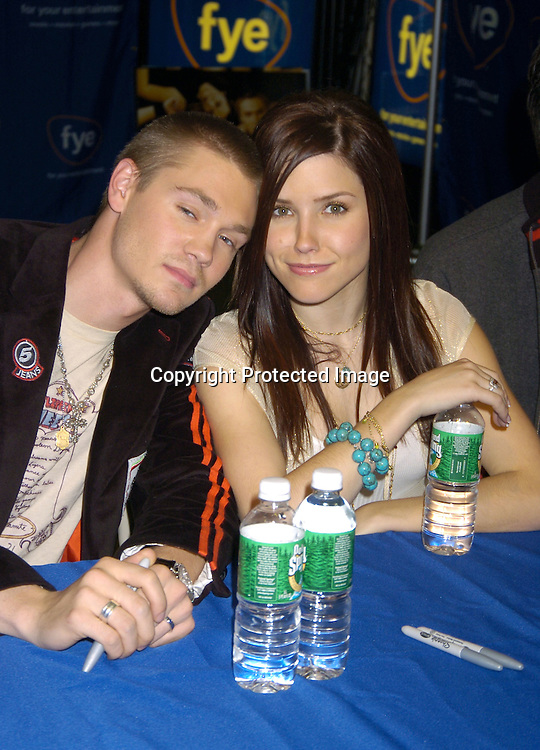 Chad Michael Murray, Sophia Bush ..at an in-store signing with the cast of One Tree Hill for their..new CD and DVD at FYE Music Store  in New York City on January 25, 2005. ..Photo by Robin Platzer, Twin Images