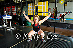 Mairead McMahon who took part in the semi-finals of the World Crossfit (a gym based discipline) Challenge virtually this weekend.
