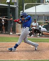 Brayan Altuve - 2021 AIL Cubs (Bill Mitchell)