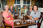 Members of the Ballybunion Ladies Golf enjoying the hospitality in the Horseshoe Bar in Listowel on Friday, l to r: Sighle Henigan, Kathrin Tangney, Olga Kiely, Ann Marie Sexton and Susan Gilmore Kessler.