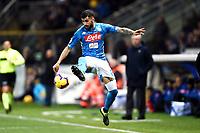 Elseid Hysaj of Napoli <br /> Parma 24-02-2019 Ennio Tardini <br /> Football Serie A 2018/2019 Parma - Napoli <br /> Foto Image Sport / Insidefoto
