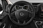 Car pictures of steering wheel view of a 2016 Opel Vivaro Business 4 Door Combi Steering Wheel