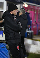 Fleetwood Town manager Uwe Rösler during the The Checkatrade Trophy match between Bury and Fleetwood Town at Gigg Lane, Bury, England on 9 January 2018. Photo by Juel Miah/PRiME Media Images.