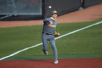 Jake Rucker (7) of the Tennessee Volunteers prior to the game against the Charlotte 49ers at Hayes Stadium on March 9, 2021 in Charlotte, North Carolina. The 49ers defeated the Volunteers 9-0. (Brian Westerholt/Four Seam Images)