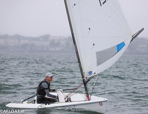 Roy Van Maanen sailing an Aero 5