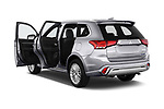 Car images close up view of a 2019 Mitsubishi Outlander PHEV Instyle 5 Door SUV doors