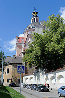 St. Kazimir (Sv.Kazimiero) in Vilnius, Litauen, Europa, Unesco-Weltkulturerbe